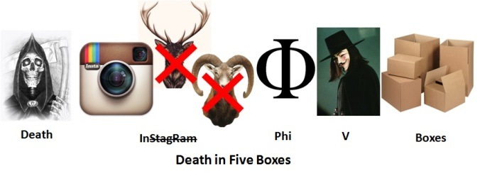 7. Death in Five Boxes