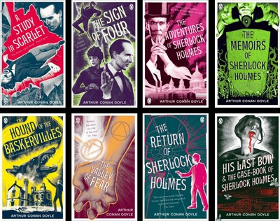 Sherlock Holmes collection covers