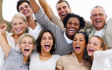 people-happy-cheering