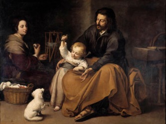 the_holy_family_with_a_little_bird