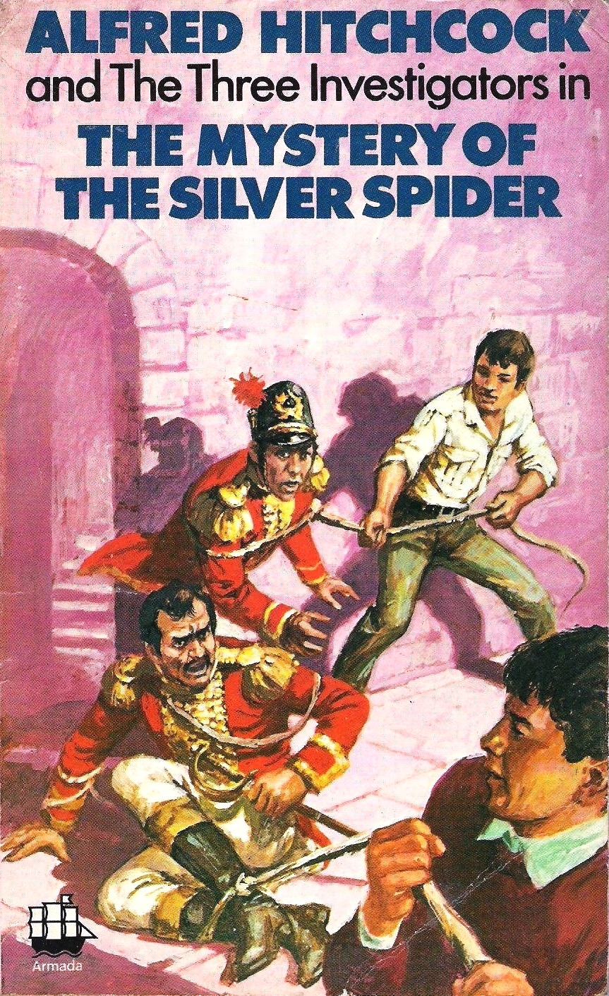 Mystery of the Silver Spider