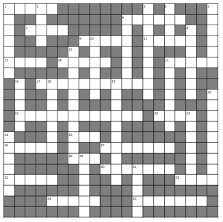 Agatha Cryptic grid